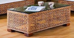 coffee table large round wicker coffee table woven side rattan or wicker coffee tables rattan
