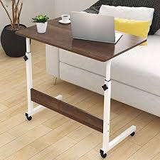 Over bed desk Diy Image Unavailable Amazoncom Amazoncom Tables Side Table Movable Lifting Simple Overbed Table