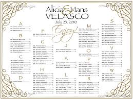 How To Make A Seating Chart Poster Wedding Reception Seating Chart Poster Template Wedding