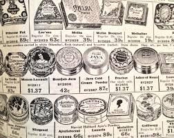 1920s makeup history powders
