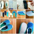 Домашняя обувь своими руками выкройки 2