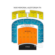 Nashville War Memorial Seating Chart War Memorial Auditorium Seating Chart War Memorial