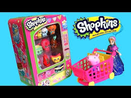 Shopkins Vending Machine Stunning SHOPKINS VENDING MACHINE Disney Frozen Princess Anna Shopping With