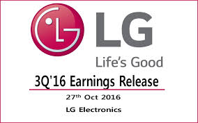 lg electronics logo. earnings: lg electronics q3 earnings down lg logo