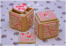 Decorative Cookie Boxes 100 best 100D Cookies images on Pinterest Decorated cookies Sugar 24