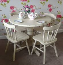 stunning round dining table collection idyllic round dining table features shabby white