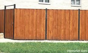 wood metal fence wood fence metal posts wood framed corrugated metal fence plans wooden fence steel