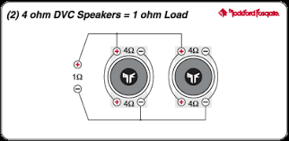how to wire up 2 amps to 4 speakers posted image