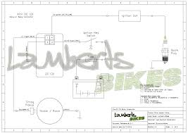 dc input cdi lamberts bikes 4 pin dc cdi wiring diagram