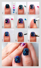 Nail Arts. Galaxy Nail Art - Nail Arts and Nail Design Ideas