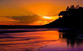 Free download beach sunset landscape 5 ...