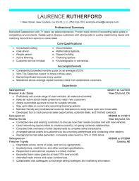 Salesperson Resume Resumesles Representative Cover Letter Whffcv