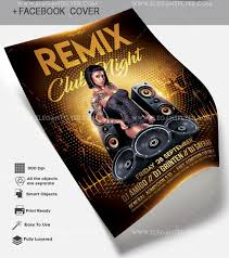 Create A Event Flyer Free 63 Premium Free Psd Party Night Club Flyer Templates