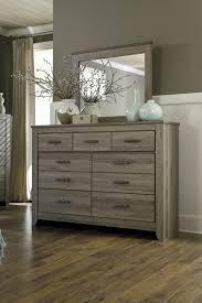 Zelen Warm Gray B248 4 PC Queen Bedroom Set