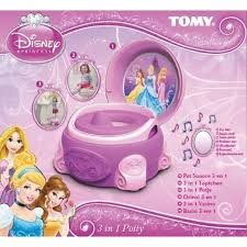 tomy disney princess 3 in 1 purple girls potty chair