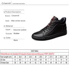 size 38 in us shoe ccharmix big size 38 48 autumn winter men shoes boots casual fashion