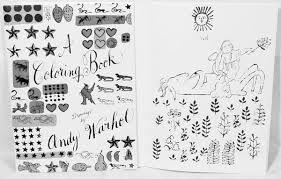 Small Picture warhol coloring pages