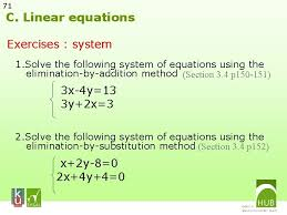 1 linear functions a functions in general b