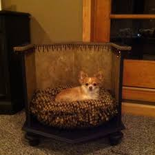 repurpose furniture dog. repuposed dogbed dog bed made out of an old end table repurposed furniture and repurpose a