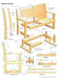 porch swing glider hardware patio furniture gliding bench glider porch