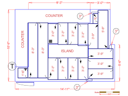 It Is Very Affordable To Install Heated Floors In An Average Size Kitchen. Kitchen  Dimensions