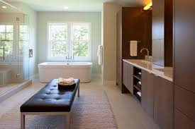modern bathrooms. View In Gallery Soft Surfaces A Contemporary Bathroom Modern Bathrooms