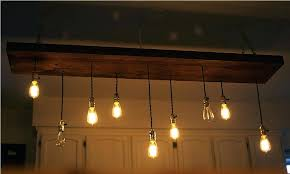 edison bulb chandelier pottery barn diy
