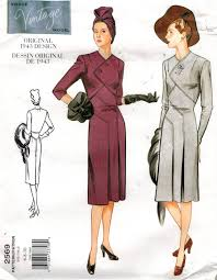 Vogue Pattern Unique Vogue Pattern 48 Vintage Design Dress From 48 Sizes 48 48 48