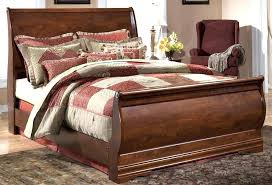 black leather sleigh bed home and furniture enchanting cherry king at great with size brown sleigh beds king size bed tufted leather