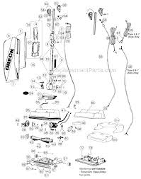 oreck xl3610hh parts list and diagram ereplacementparts com click to close