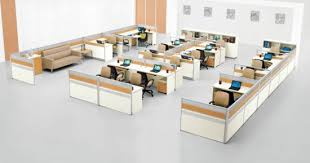 office workstation design. Modern Wooden Chinese Manufacturer H Shape Office Workstation Design Layout System (SZ-WSA101)