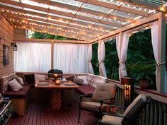 clear covered patio ideas. The Lights, Clear Plexi Roof, Privacy Curtains Covered Patio Ideas E
