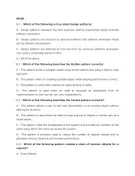 Proxy Design Pattern C Design Pattrens Paper Pattren