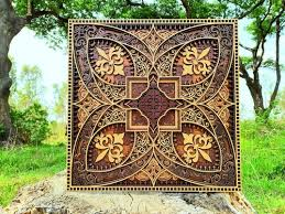 indian traditional wood multilayer
