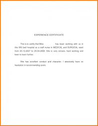 Experience Certificate Format Manager Best Of Perfect Driver