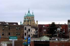 ukrainian catholic cathedral in ukrainian village