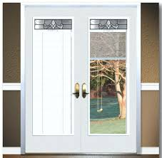 French Door Glass Replacement With Blinds.Uncommon French Sliding ...