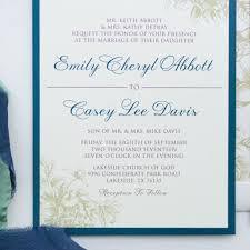 scroll wedding invitations philippines luxury elegant formal traditional fl flowers wedding invitation in navy invitation ideas