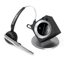 com sennheiser officerunner convertible wireless office headset with microphone dect 6 0 classic silver office s