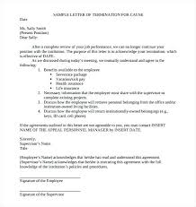 Employee Termination Letter Template Free Impressive Insurance Cancellation Template Termination Policy And Procedures