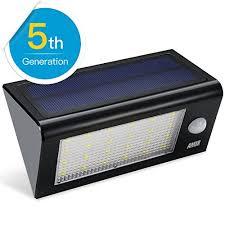 Maxsa 40226 SolarPowered MotionSensor 80 LED Security Light BLACKLed Security Light Solar