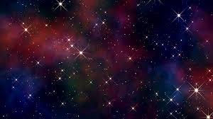 galaxy backround 4k night sky clouds stars galaxy universe background motion
