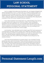 Law School Essay Format