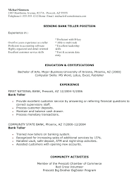 Teller Job Description For Resume. Cashier Job Description Resume ...