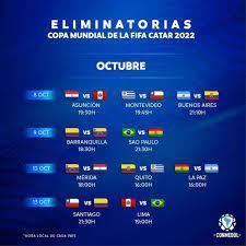 Las diez selecciones de sudamérica estaban listas para el inicio de las eliminatorias rumbo a qatar 2022. Eliminatorias Qatar 2022 Asi Quedo La Tabla De Posiciones Al Final De La Fecha 1 Del Torneo De La Tribuna