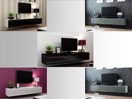 high gloss tv stand entertainment cabinet 180cm floating wall mounted tv unit