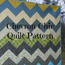 PDF quilt pattern Chevron Chic three design variations in & PDF quilt pattern -- Chevron Chic-- three design variations in ONE pattern--  multiple size options Adamdwight.com