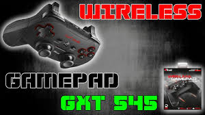 Unboxing <b>Trust Wireless</b> Gamepad <b>GXT 545</b> - YouTube