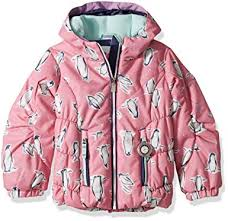 Obermeyer Kids Size Chart Obermeyer Kids Baby Girls Cakewalk Jacket Toddler Little Kids Big Kids Penguins N Pink 5