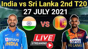 IND vs SL 2nd t20 Match Live Score ...